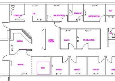 TMP 5000-18 Floor Plan