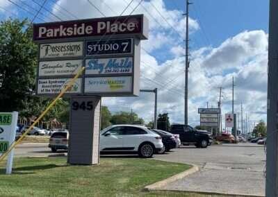 Parkside Sign